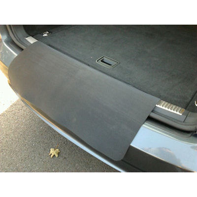 Rubber Car Mats >> A Bumper Protector Flap - BOOT LINERS - TAILORED CAR BOOT MATS - BootsLiners