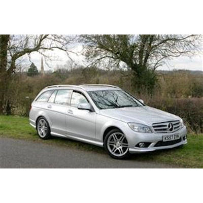 mercedes c class w204 estate 2007 boot liners bootsliners. Black Bedroom Furniture Sets. Home Design Ideas