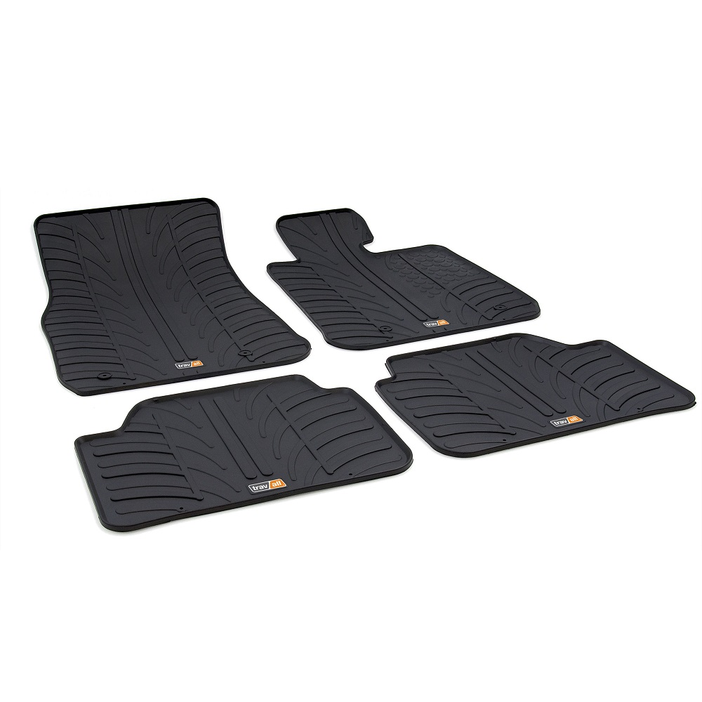 BMW 1 SERIES TAILORED RUBBER CAR MATS 2011 ONWARDS