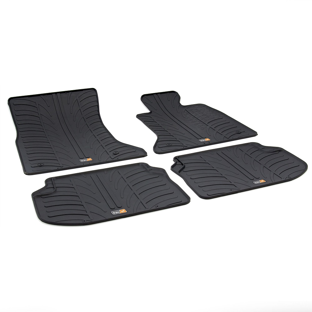 BMW 5 SERIES TAILORED RUBBER CAR MATS 2010-2016