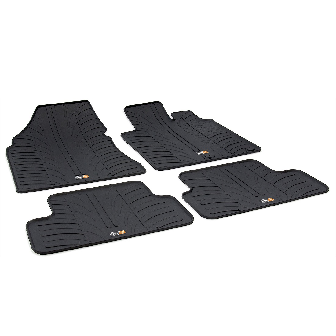 NISSAN QASHQAI TAILORED RUBBER CAR MATS 2007-2014