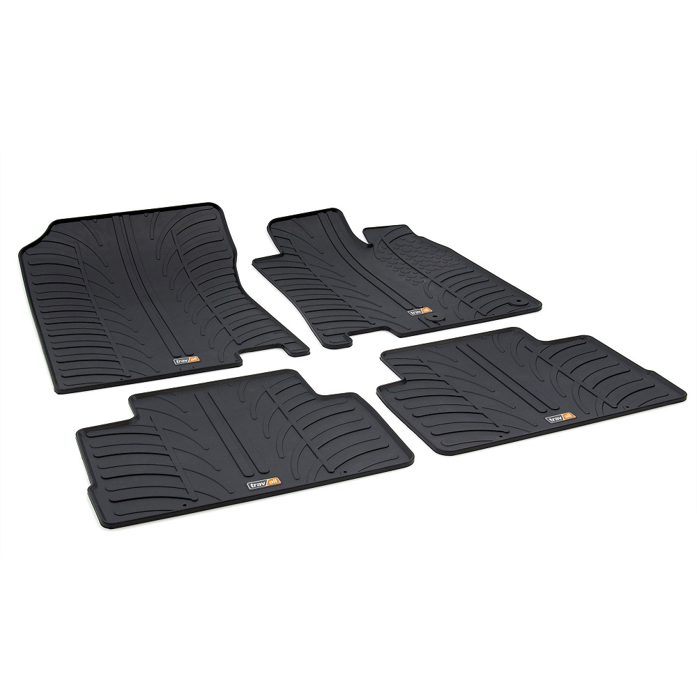 NISSAN QASHQAI TAILORED RUBBER CAR MATS 2014 - PRESENT