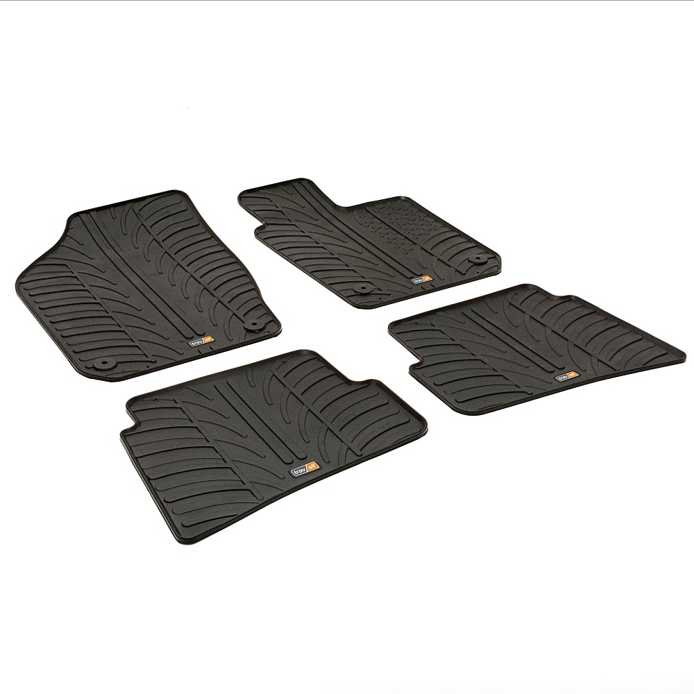 SEAT IBIZA TAILORED RUBBER CAR MATS 2008 ONWARDS