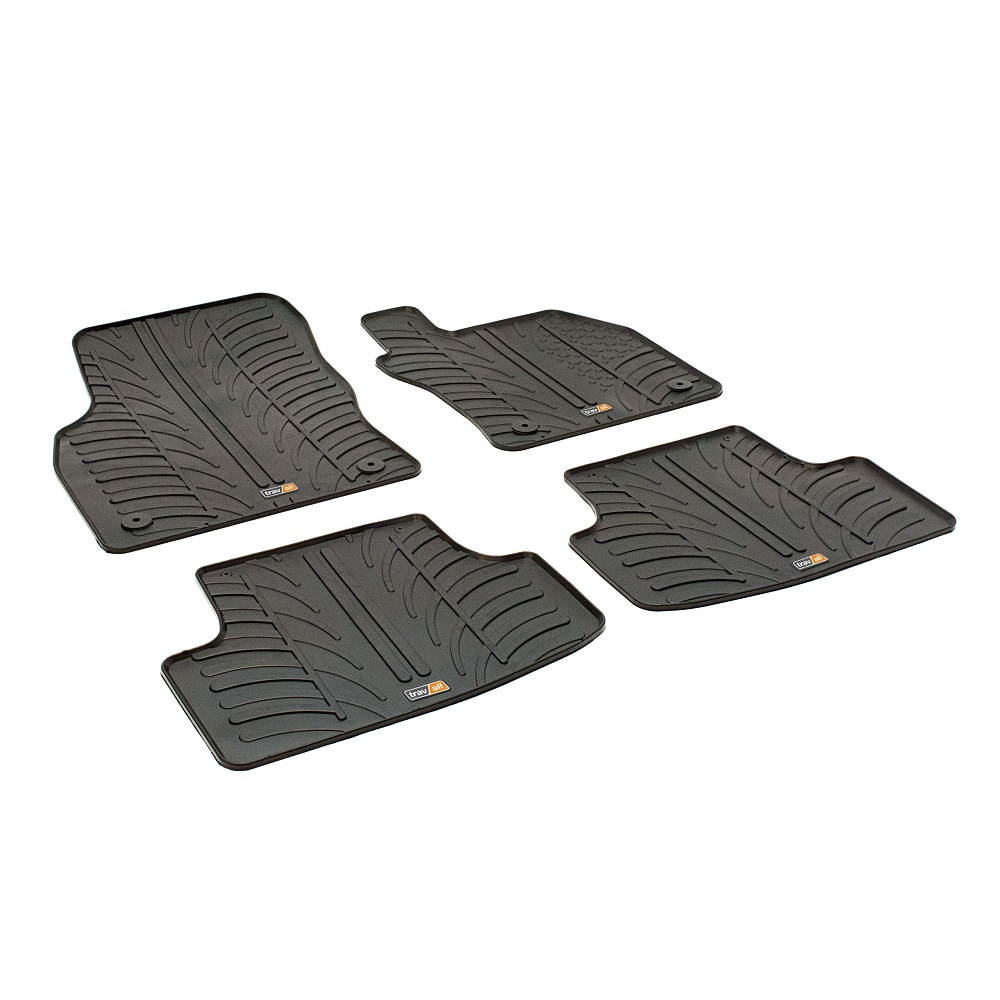SEAT LEON TAILORED RUBBER CAR MATS 2012 ONWARDS
