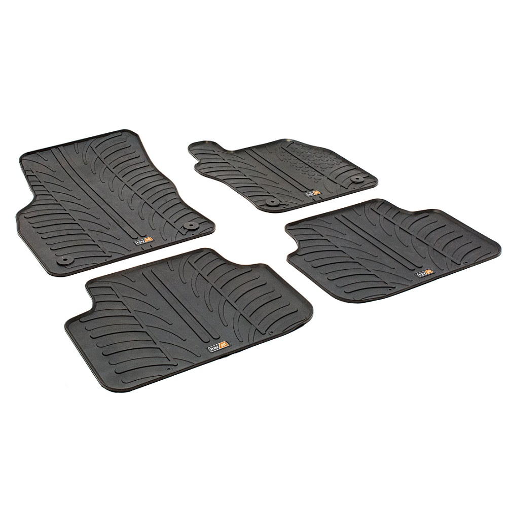SKODA OCTAVIA TAILORED RUBBER CAR MATS 2013 ONWARDS