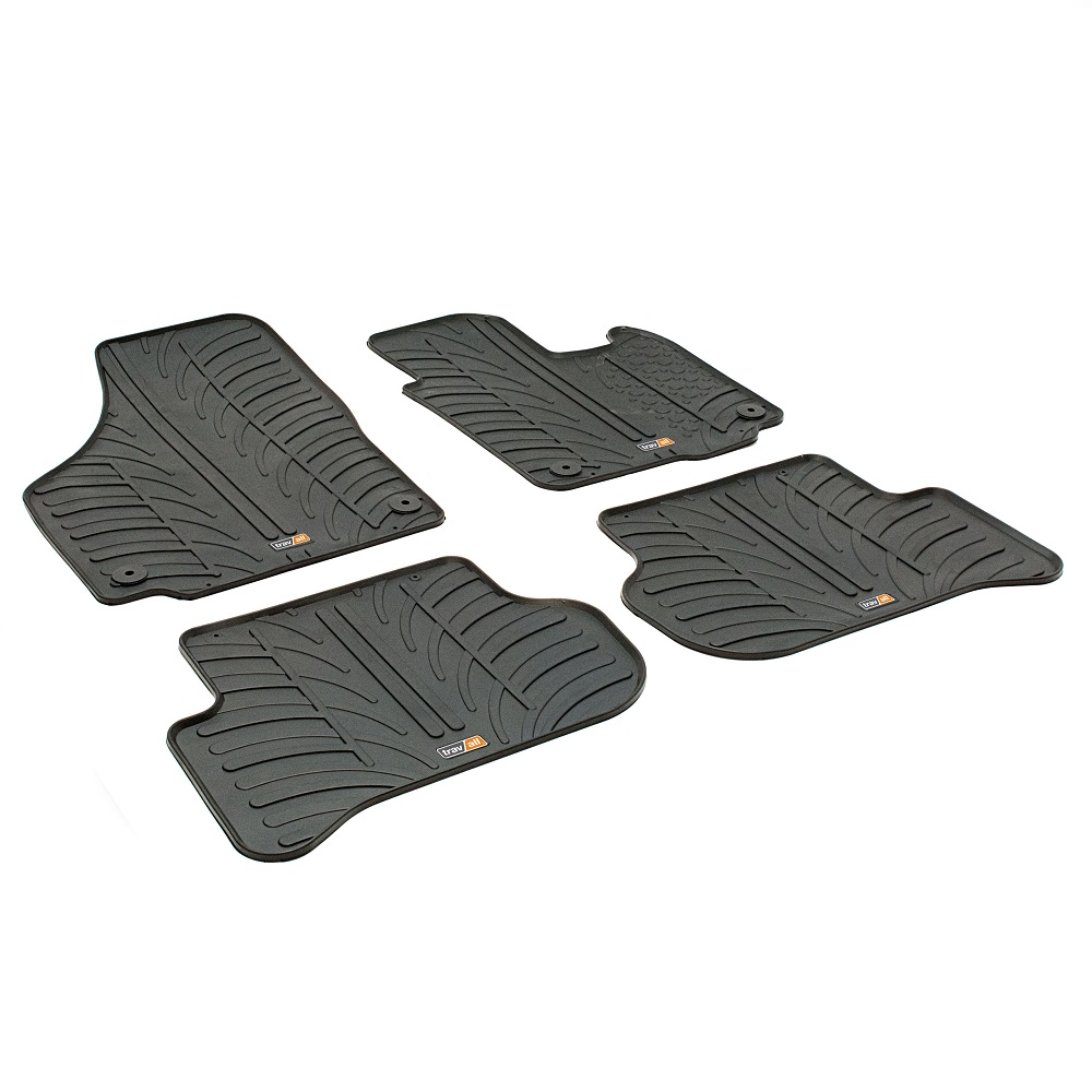 SKODA YETI TAILORED RUBBER CAR MATS