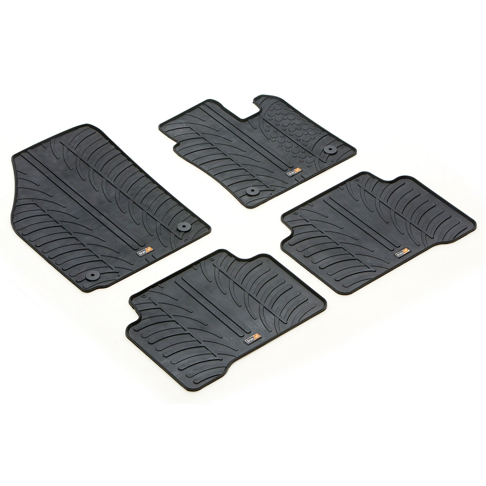 VW VOLKSWAGEN TOURAN TAILORED RUBBER CAR MATS 2015 ONWARDS
