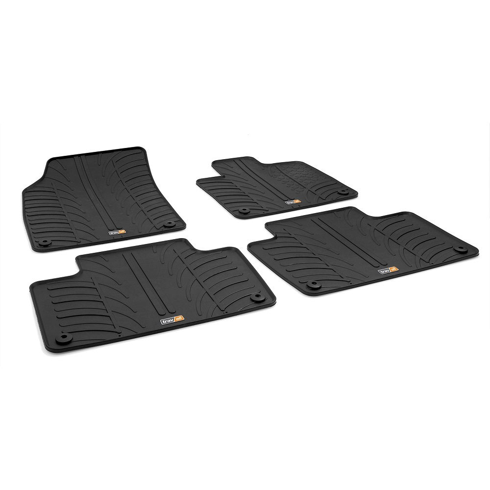 XC90 TAILORED RUBBER CAR MATS 2015 ONWARDS