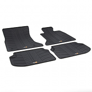 5 SERIES TAILORED RUBBER CAR MATS 2010 ONWARDS
