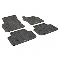 OCTAVIA TAILORED RUBBER CAR MATS 2013 ONWARDS