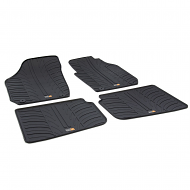 SKODA ROOMSTER TAILORED RUBBER CAR MATS
