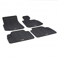 4 SERIES TAILORED RUBBER CAR MATS 2013 ONWARDS