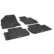 MITSUBISHI OUTLANDER TAILORED RUBBER CAR MATS 2012 ONWARDS