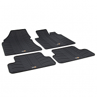 QAHSQAI TAILORED RUBBER CAR MATS 2007-2014