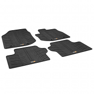 JAZZ TAILORED RUBBER CAR MATS 2008-2015