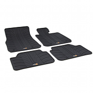 1 SERIES TAILORED RUBBER CAR MATS 2011 ONWARDS